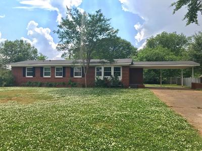 Muscle Shoals AL Single Family Home For Sale: $99,500