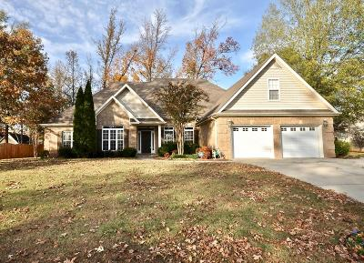Muscle Shoals AL Single Family Home For Sale: $259,900