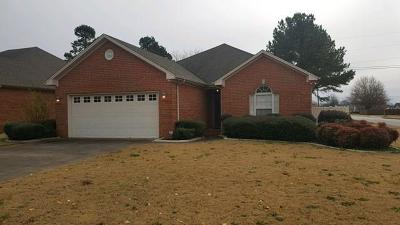 Muscle Shoals AL Single Family Home For Sale: $142,500