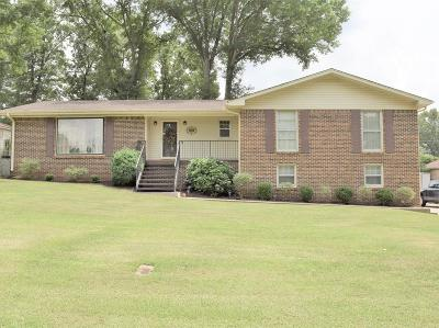 Muscle Shoals AL Single Family Home For Sale: $184,900