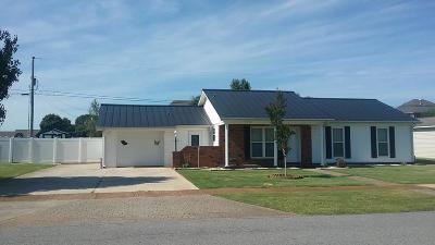 Muscle Shoals AL Single Family Home For Sale: $119,900