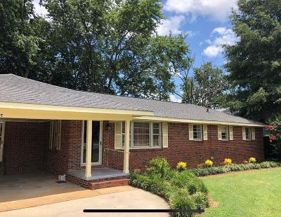 Muscle Shoals AL Single Family Home For Sale: $114,900