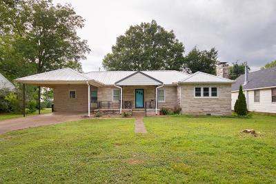Muscle Shoals AL Single Family Home For Sale: $144,900
