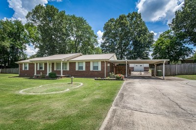 Muscle Shoals AL Single Family Home For Sale: $167,500