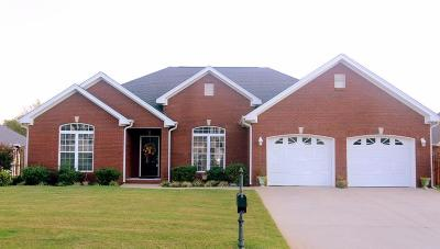 Muscle Shoals AL Single Family Home For Sale: $195,000
