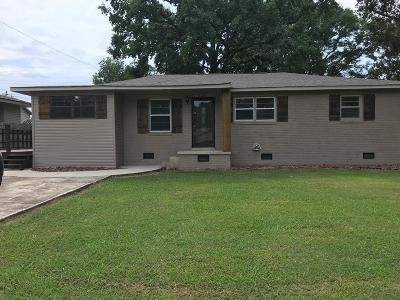 Muscle Shoals AL Single Family Home For Sale: $134,900