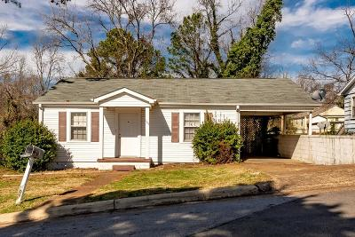 Florence AL Single Family Home For Sale: $79,900