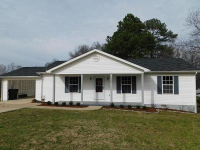 Florence AL Single Family Home For Sale: $99,900
