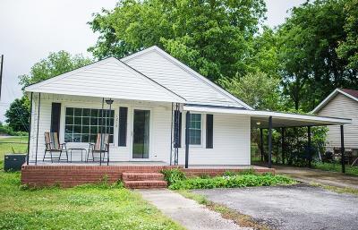 Sheffield AL Single Family Home For Sale: $69,900