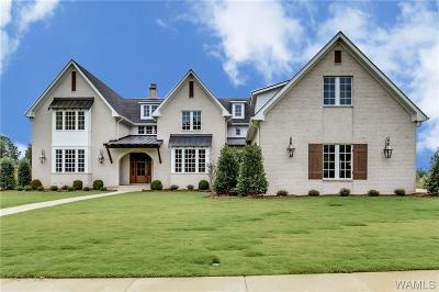 Tuscaloosa AL Single Family Home For Sale: $1,200,000