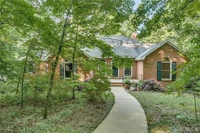 Tuscaloosa Single Family Home For Sale: 11356 Woodbank Parkway