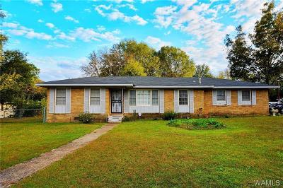 Tuscaloosa Single Family Home For Sale: 3803 4th Avenue