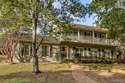 Tuscaloosa Single Family Home For Sale: 1001 Brandywine Road