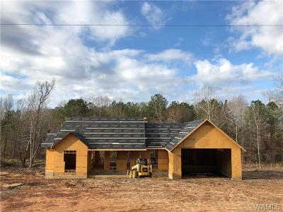 Tuscaloosa Single Family Home For Sale: 16394 Yellow Creek Road