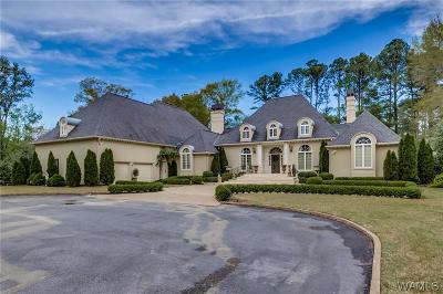 Tuscaloosa AL Single Family Home For Sale: $1,395,000
