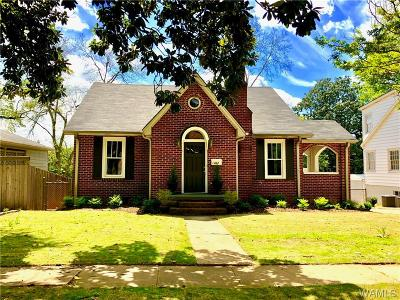 Tuscaloosa Single Family Home For Sale: 1422 Dearing Place
