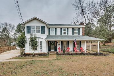 Tuscaloosa Single Family Home For Sale: 817 Chickamauga Circle