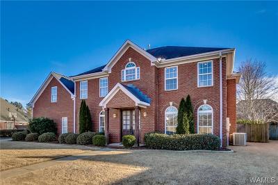 Tuscaloosa Single Family Home For Sale: 6010 Grey Circle