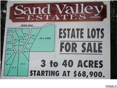 Tuscaloosa Residential Lots & Land For Sale: 3 Myers Road #3