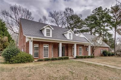 Tuscaloosa Single Family Home For Sale: 435 Northshore Drive