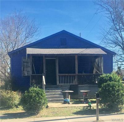 Tuscaloosa Single Family Home For Sale: 2311 Herman Ave