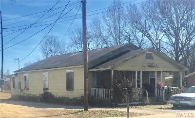 Tuscaloosa Single Family Home For Sale: 2805 Herman Ave