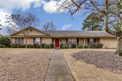 Tuscaloosa Single Family Home For Sale: 349 Riverdale Drive