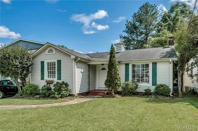 Tuscaloosa Single Family Home For Sale: 17 Oakwood Court