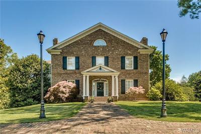 Tuscaloosa Single Family Home For Sale: 1730 Montrose Drive