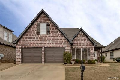 Tuscaloosa Single Family Home For Sale: 4411 Evangeline Way