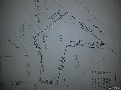 Tuscaloosa Residential Lots & Land For Sale: Upper Hull Rd