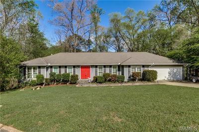 Tuscaloosa Single Family Home For Sale: 1823 Woodridge Road