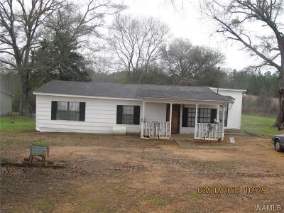 Moundville Single Family Home For Sale: 191 Gabriel Creek Road