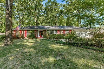 Tuscaloosa Single Family Home For Sale: 75 Cherokee Road
