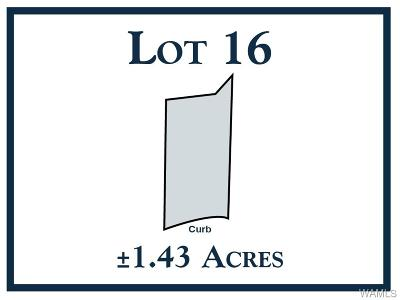 Tuscaloosa Residential Lots & Land For Sale: 16 New Watermelon Road