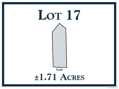 Tuscaloosa Residential Lots & Land For Sale: 17 New Watermelon Road