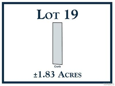 Tuscaloosa Residential Lots & Land For Sale: 19 New Watermelon Road