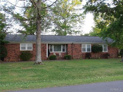 Tuscaloosa Single Family Home For Sale: 3435 Oak Bend Road