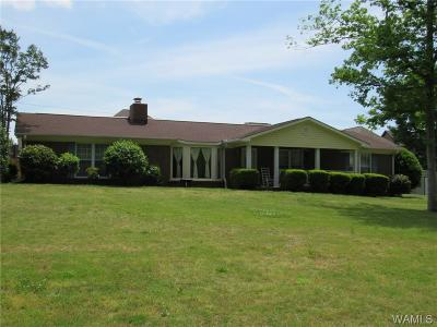 Tuscaloosa Single Family Home For Sale: 3541 Oak Bend Road