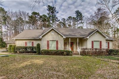 Tuscaloosa Single Family Home For Sale: 13508 Woodbank Lane