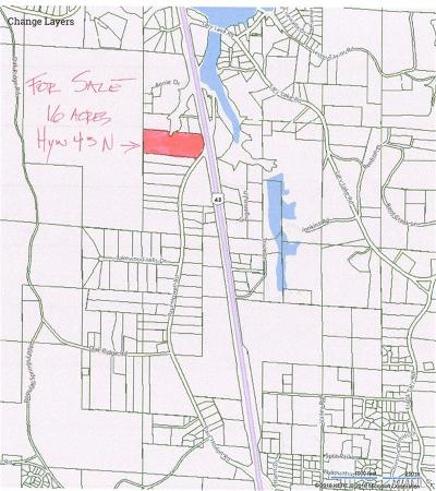 Northport Residential Lots & Land For Sale: 0000 Highway 43 N