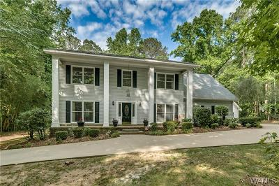 Tuscaloosa Single Family Home For Sale: 11276 Woodbank Parkway