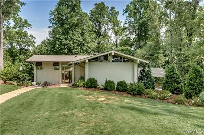 Tuscaloosa Single Family Home For Sale: 1310 Indian Hills Circle