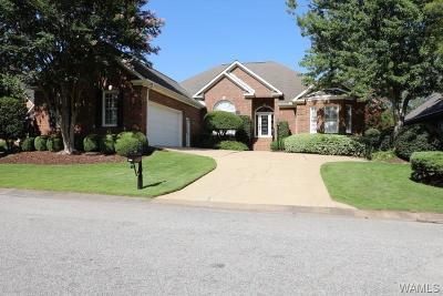 Tuscaloosa Single Family Home For Sale: 3998 Gaineswood Lane