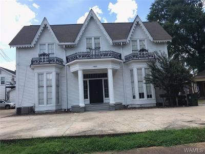 Tuscaloosa Single Family Home For Sale: 1005 17th Avenue #ABCDEF