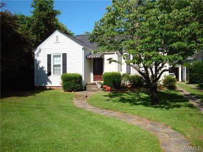 Tuscaloosa Single Family Home For Sale: 1314 15th Avenue