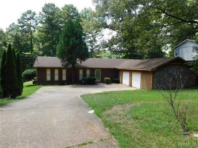 Tuscaloosa Single Family Home For Sale: 4165 East Lake Drive