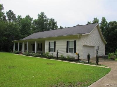 Coker Single Family Home For Sale: 13530 Parrish Road