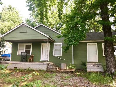 Tuscaloosa Single Family Home For Sale: 2626 26th Street