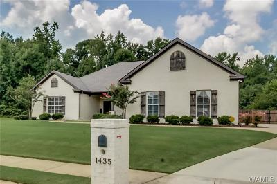 Tuscaloosa Single Family Home For Sale: 1435 Waterford Lane